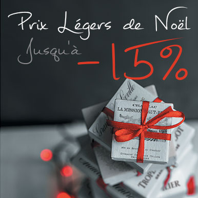 Prix légers de Noël jusqu'a -15%