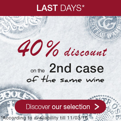 40% off the 2nd case bought from our Winter selection