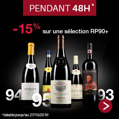 -15% sur une sélection RP90+
