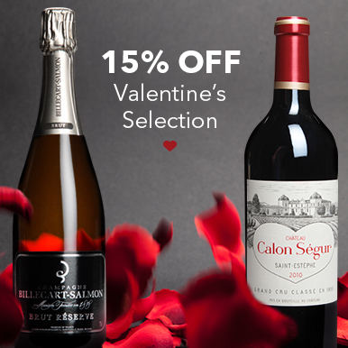 15% off Valentine's selection