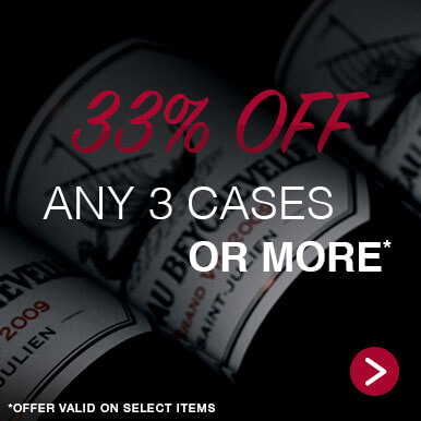 33% off any 3 cases or more