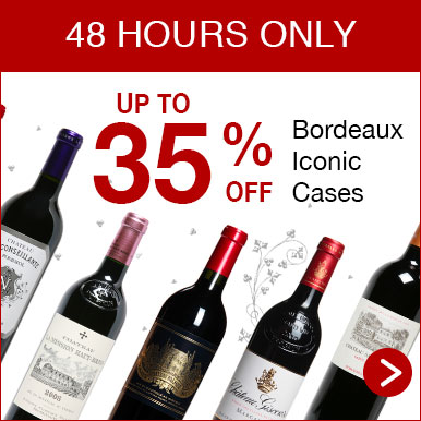 Up to 35% off Bordeaux iconic Cases