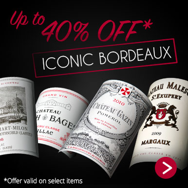 Up to 40% off Bordeaux Iconic