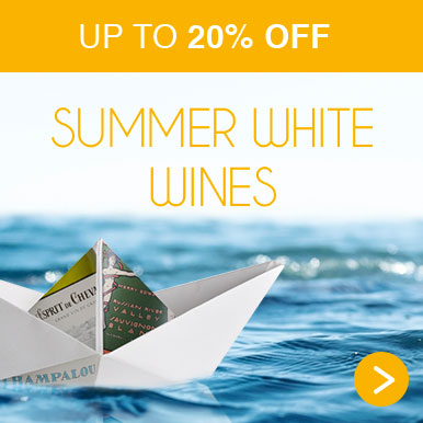 Up to 20% off summer white wines