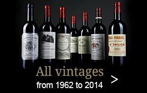 bottles all vintages