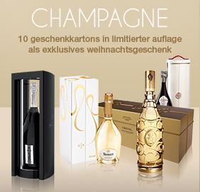 10 geschenkkartons champagne