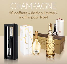 Champagne : 10 coffrets « édition limitée »