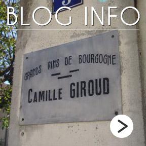 Camille Giroud Blog Info